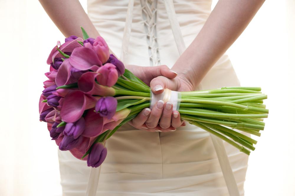 Мускари свадебный букет — pic 14