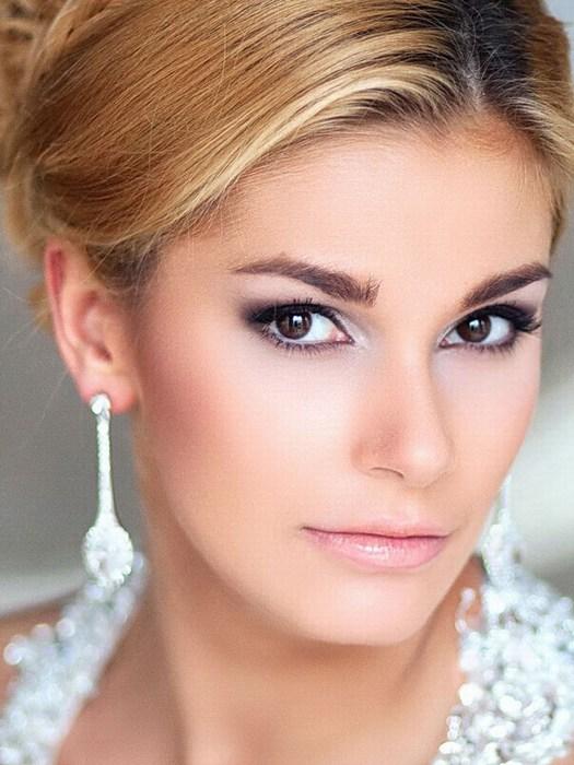 Свадебный макияж для карих глаз: фото, советы брюнеткам, отзывы 16