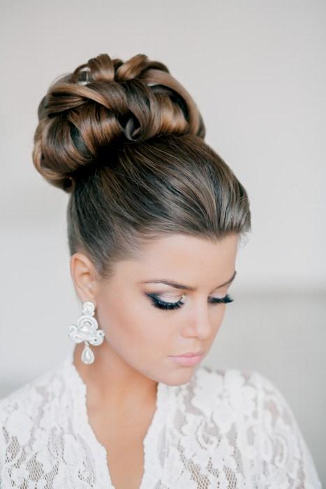 Картинки косы на средних волосах схема плетения - 9