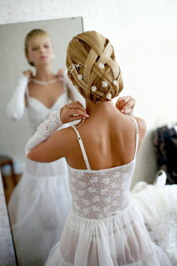свадебные прически в подольске недорого
