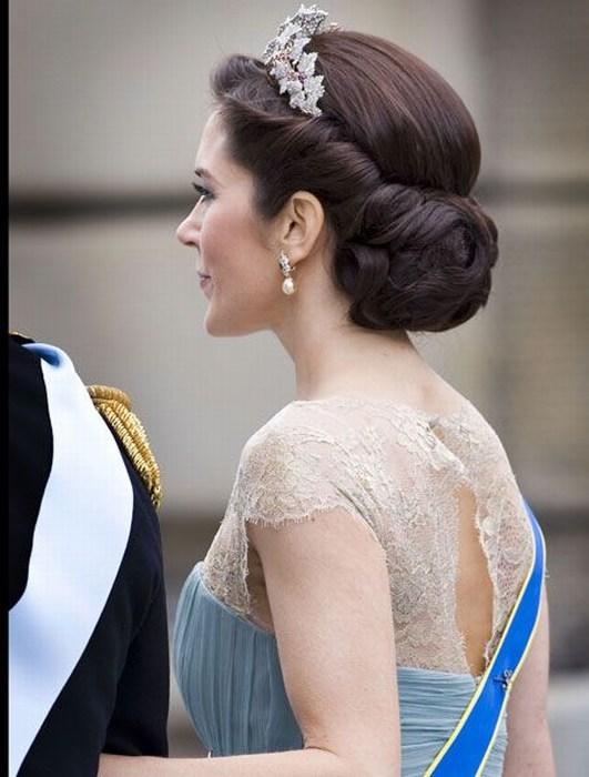 Прическа свадьба принцесса