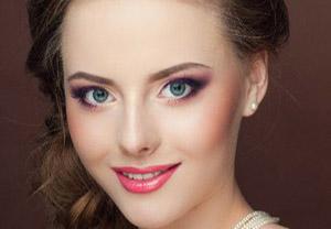 Ослепительный вечерний макияж невесты