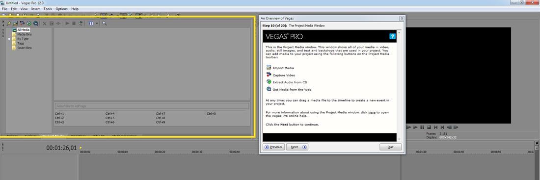 Инструкция работы с sony vegas 10